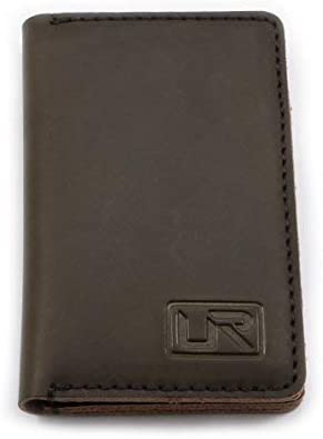 Limited Edition Genuine Leather Wallet - Minimalist Card Holder - Stylish Gift for Men (Brown)
