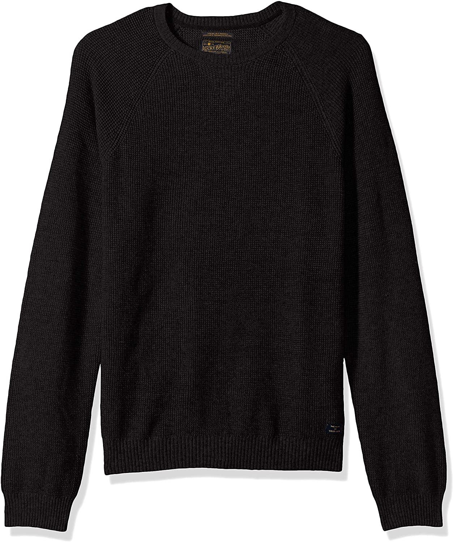 Lucky Brand Men's Colorado Cross Stitch Crew Neck Shirt
