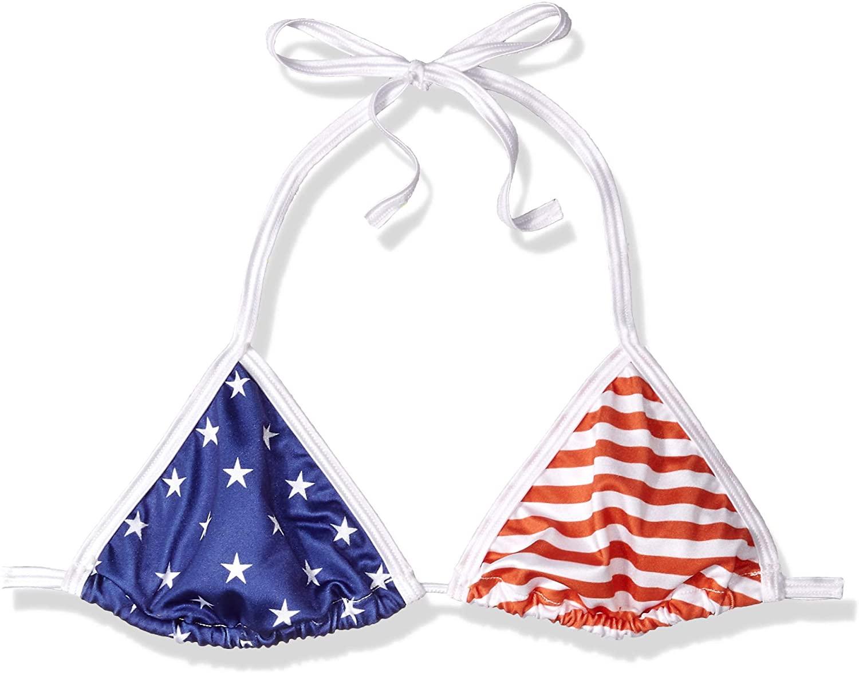 BODYZONE Women's Patriotic Tri Top