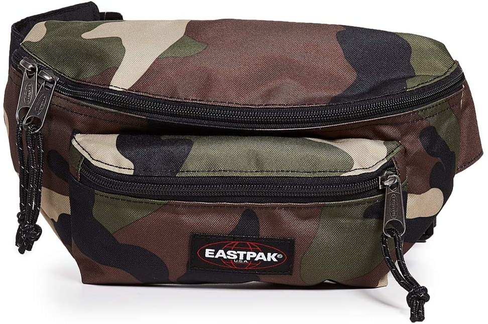 Eastpak Men's Doggy Bag, Camo, Green, Print, One Size