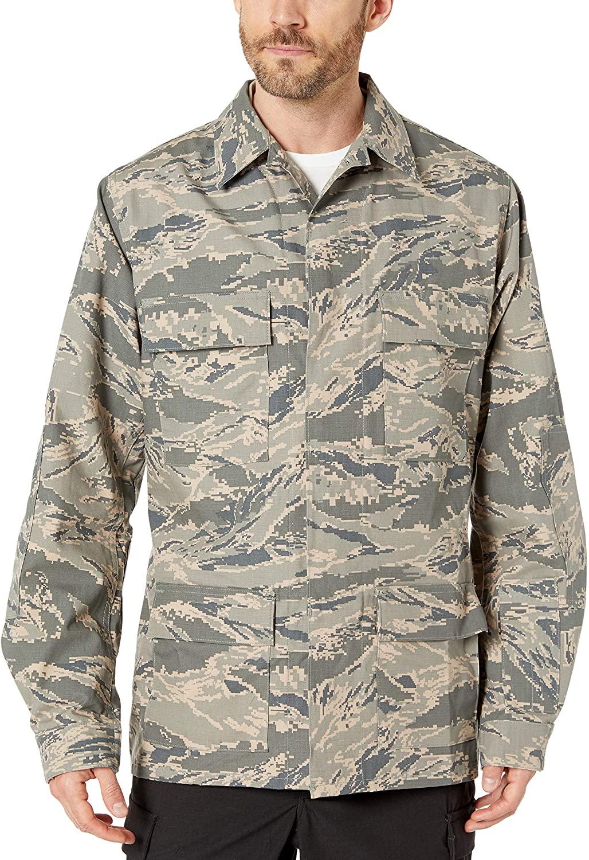 Propper Men's NFPA-Compliant Abu Coat, Air Force Digital Tiger Stripe, Size 38/Long