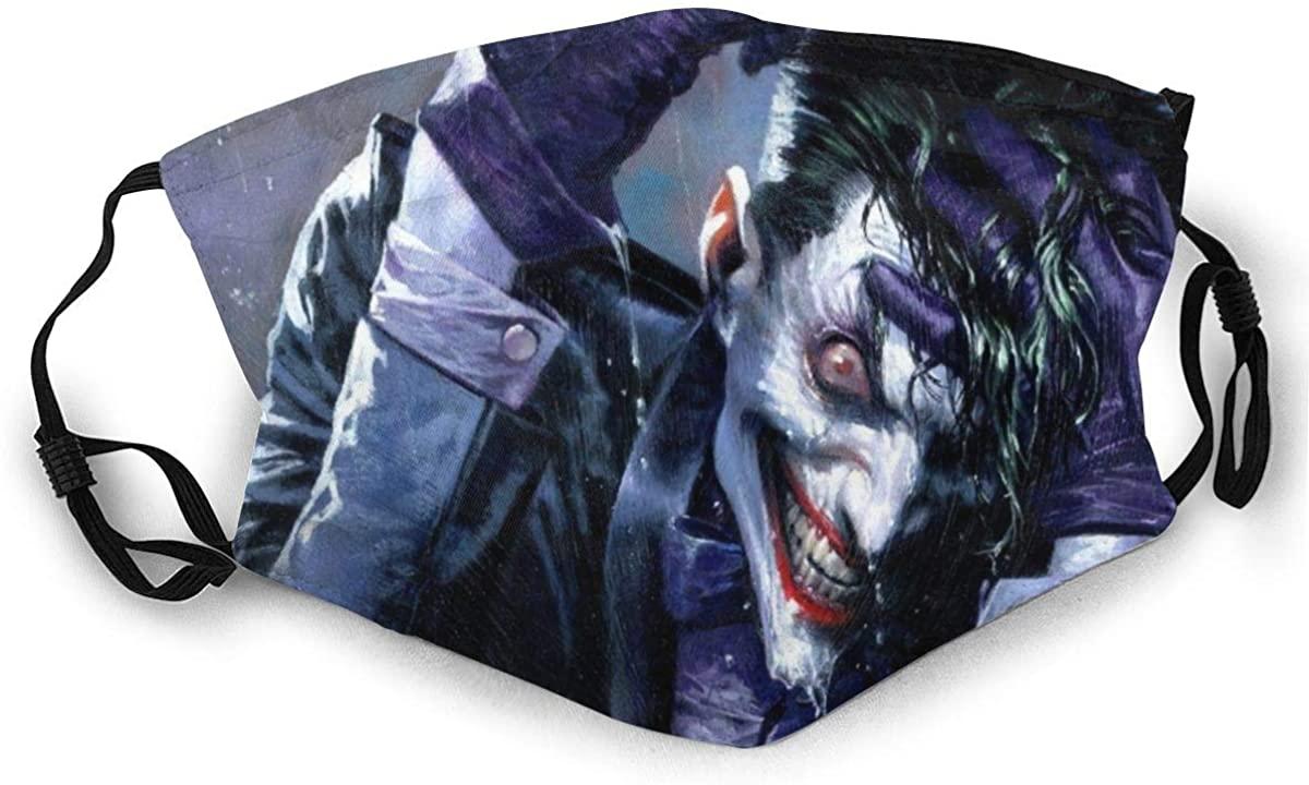 Deskool Jo-Kers Smile Adjustable Ear Loops Face Bandanas Face Shield Bandanas Masks For Boys Girls