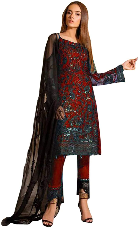 Pakistani Wear Straight Salwar Kameez Party Wear Wedding Special Readymade Dresses for Women