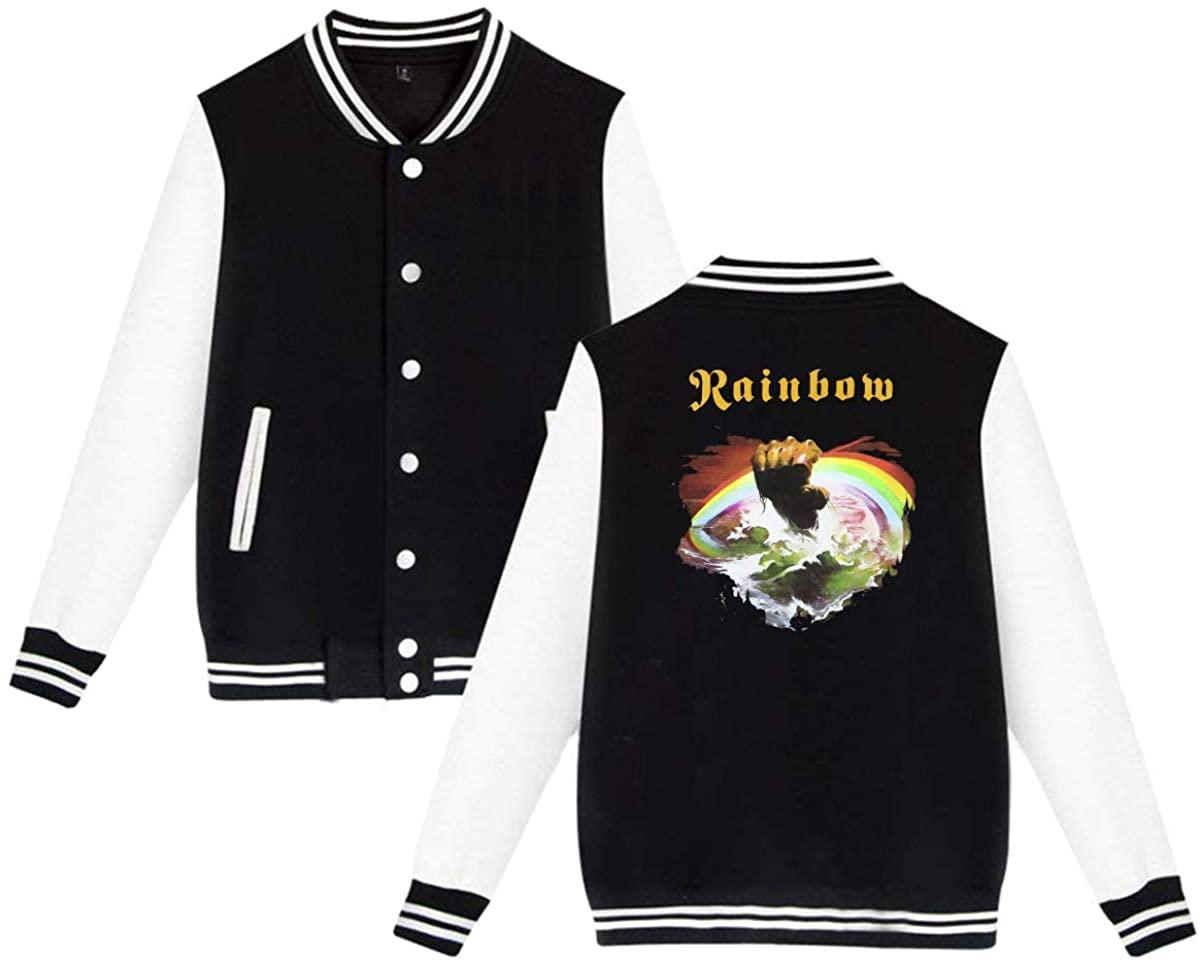 1953 Rainbow Rising Unisex Baseball Jacket Varsity Jacket