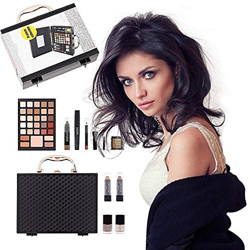2 Colors Amazing Cosmetic Box (Black)