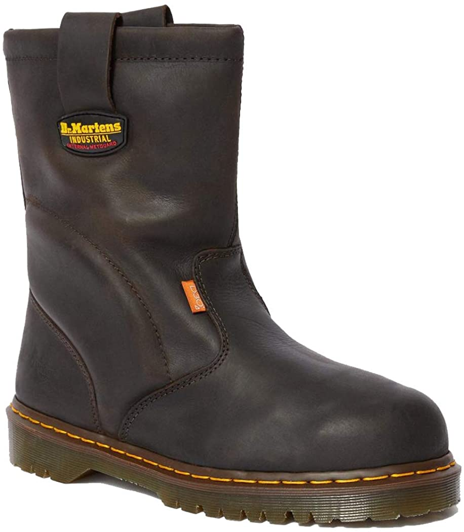 Dr. Martens, Men's 2295 Heavy Industry Boots, Extra Wide, with Internal Met Guard