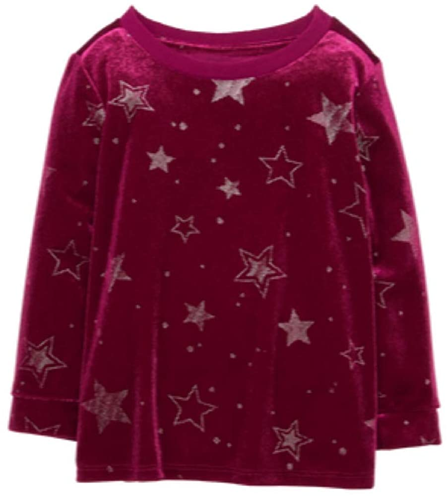 Gymboree Girls Star Sparkly Top