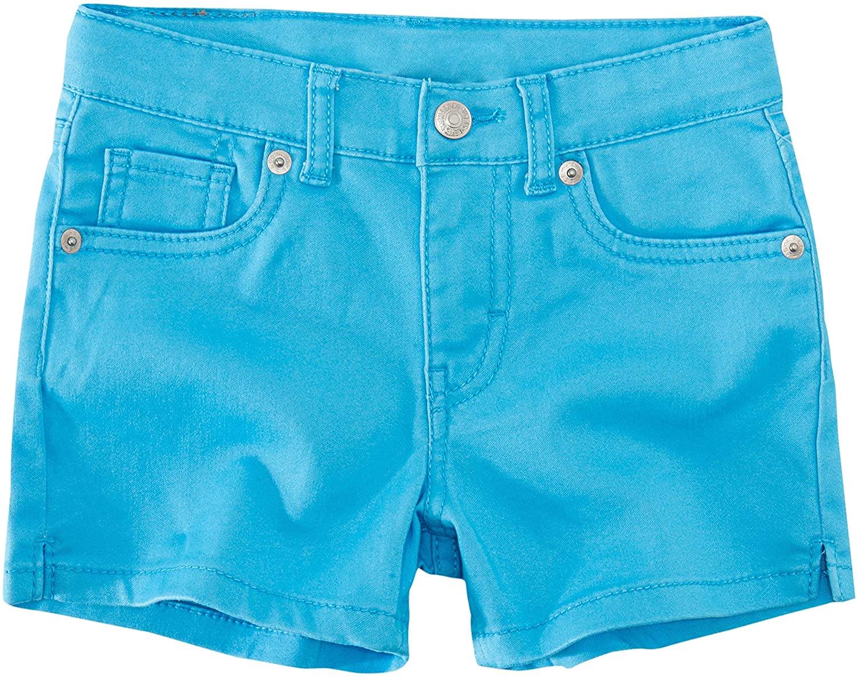 Levi's Girls' Soft Brushed Shorty Shorts