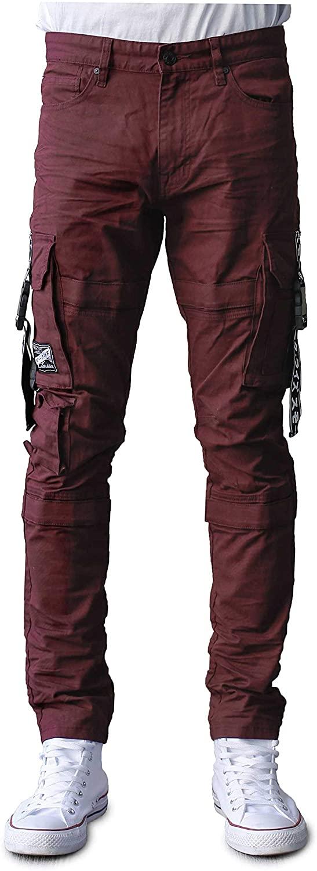 Smoke Rise Mens Fashion Twill Cargo Pants