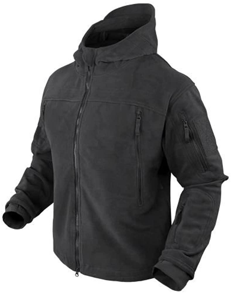 Condor Seirra Hooded Fleece Jacket - Small - Black