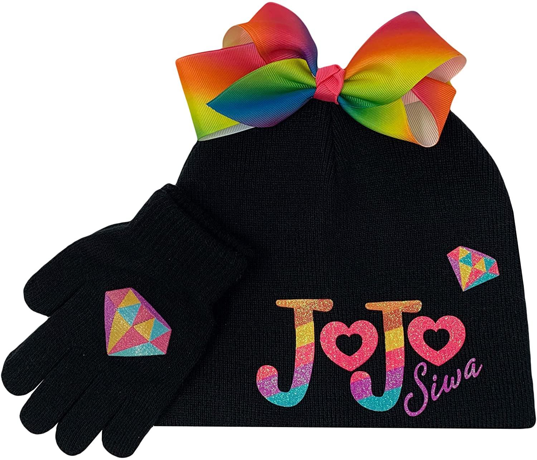 JoJo Ribbon Beanie & Glove Set