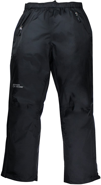 Red Ledge Men's Free Rein Full-Zip Pant Full Side Zip Rain Pant