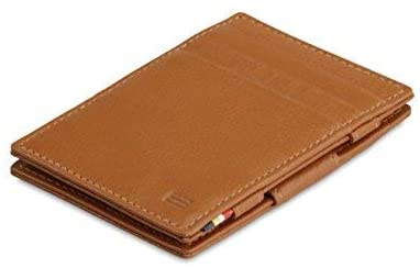 Garzini Thin Minimalist Genuine Leather Magic Wallet RFID Blocking for Men