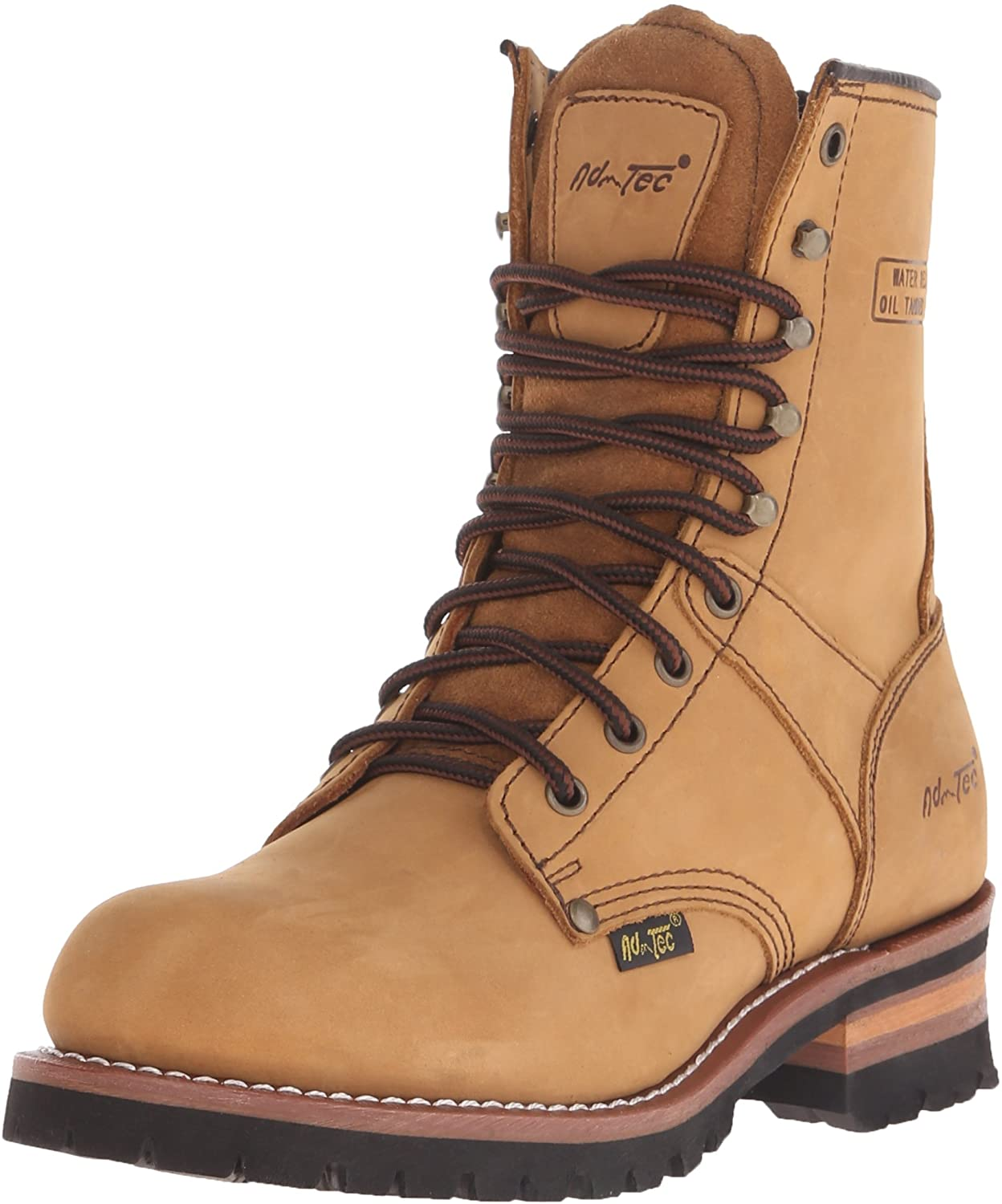 Ad Tec Super Logger Boots (Brown, Numeric_7_Point_5)