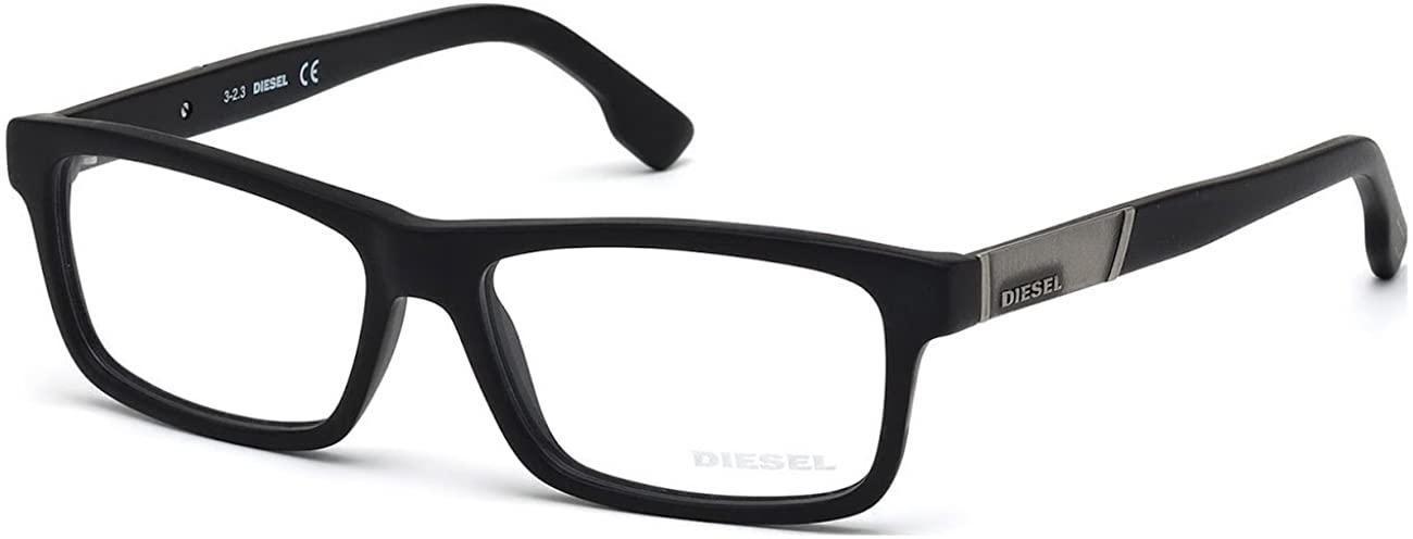 DIESEL Eyeglasses DL5090 002 Matte Black