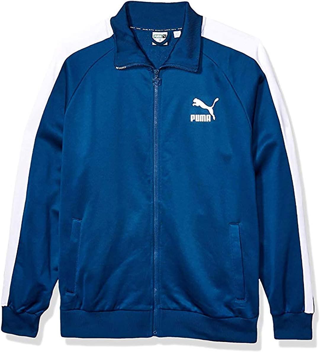 PUMA Men's Iconic T7 Track Jackets Fashion Sports Track Top