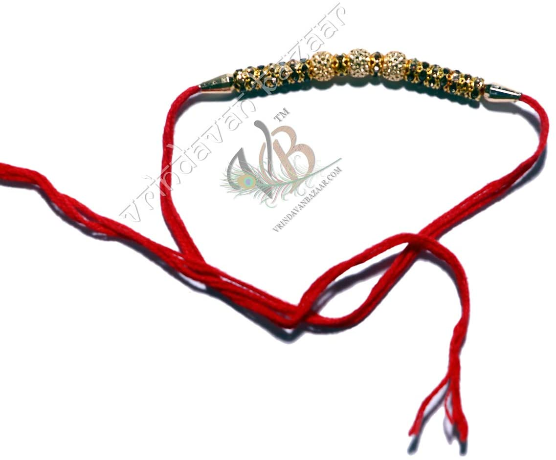 VRINDAVANBAZAAR.COM Rakhi for Brother Set/Bracelet for Brother/Designer Rakhi/Rakhi for Kids/Rakhi Rudraksha/Indian Rakhi/Raksha Bandhan Rakhi 25