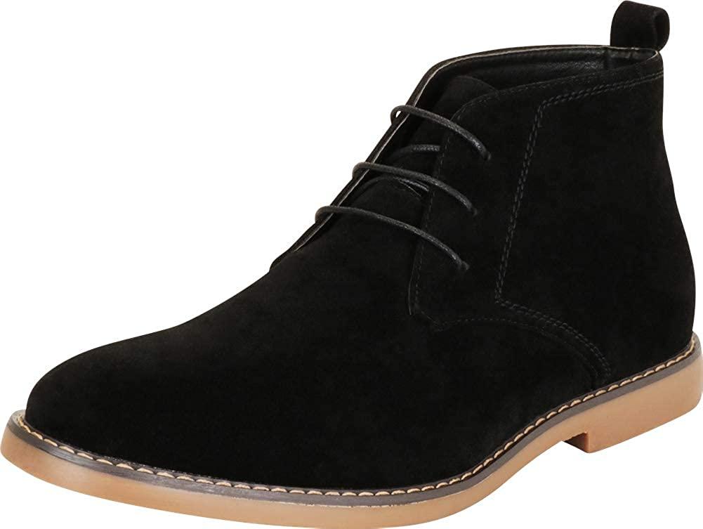 Cambridge Select Men's Classic Lace-Up Chukka Boot
