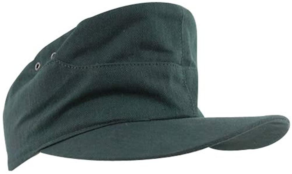 WW2 German Heer summer HBT field cap reed green