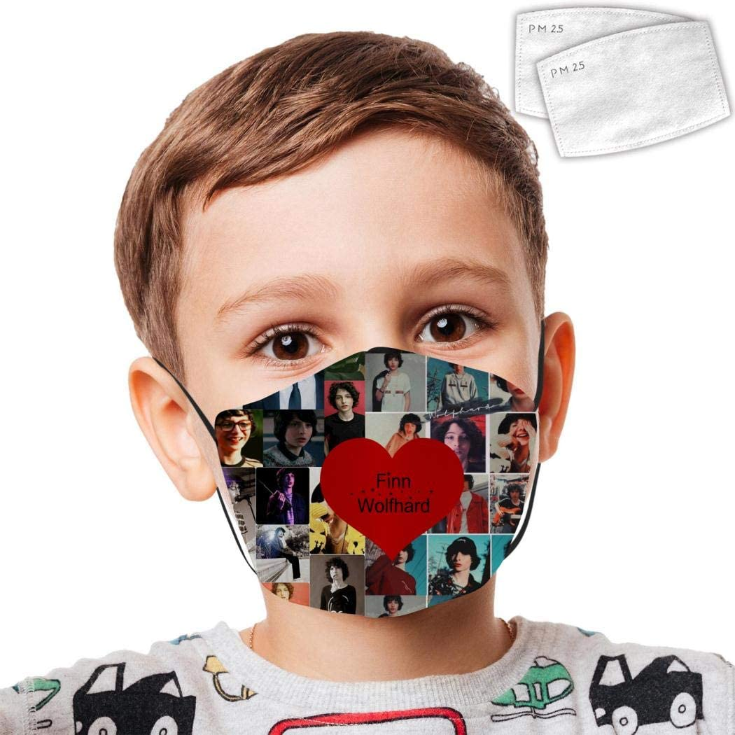 Teens Reusable Anti Dust Mask Protection Finn It Wo1fhard Washable Face Masks Child Face Masks Custom Cover