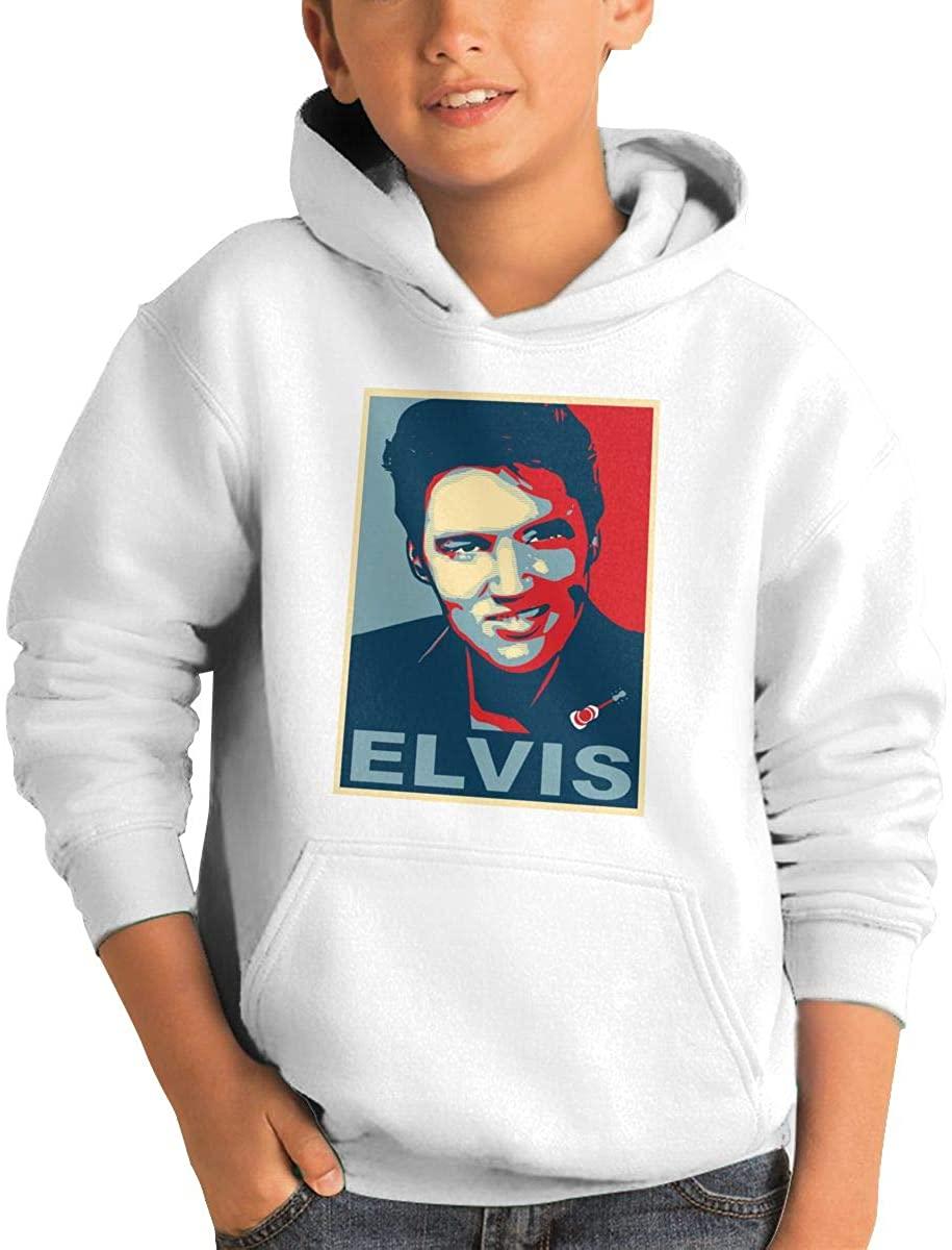 Joseph L Hurwitz Elvis Aaron Presley Youth Pullover Hoodies 3D Printed Long Sleeve Pocket Hooded Sweatshirt
