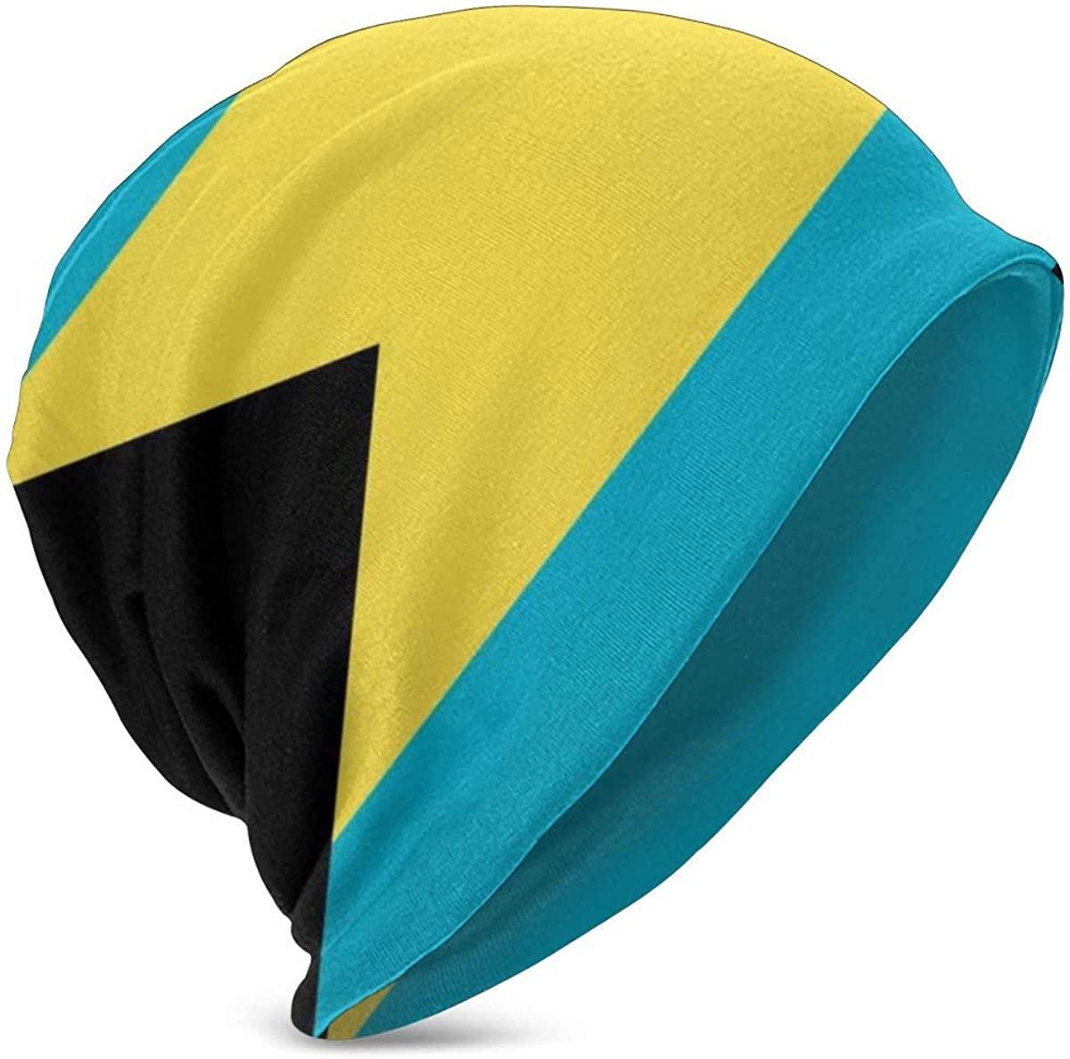 Bahamas Flag Child Warm Winter Hats Premium Slouchy Knit Beanie Cap