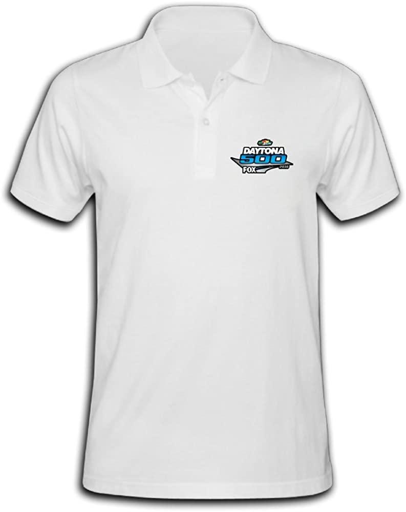 LZHEN Men's Polo Shirts Daytona 500 2016 Logo