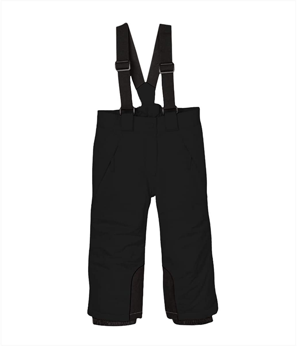 BiyAN9m Baby/Toddler Chest Insulated Snow Bib Overalls, Ski Pant with Suspenders Snowsuit