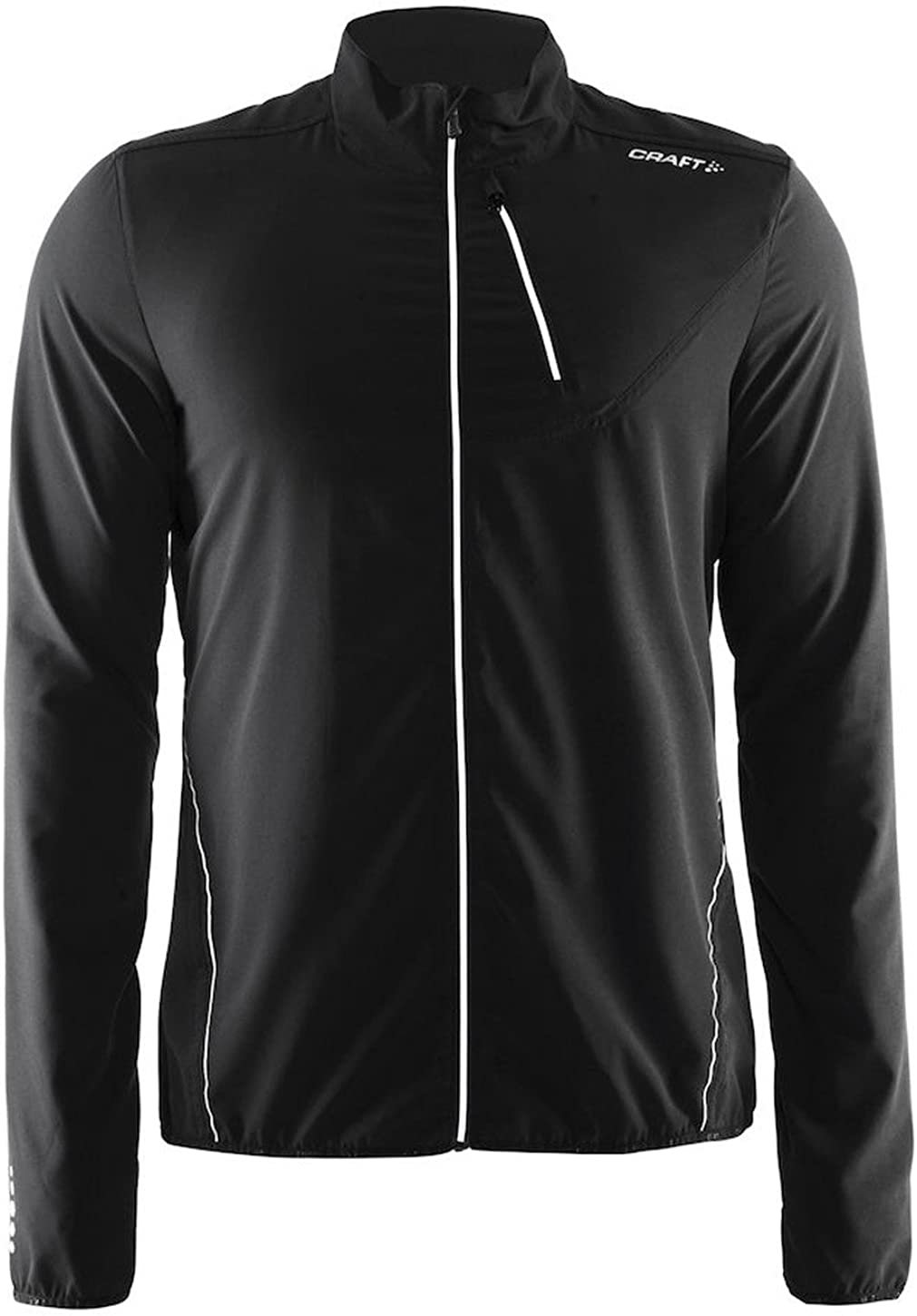 Craft Mens Mind Running and Training Fitness Jacket with Headphone Cord Solution