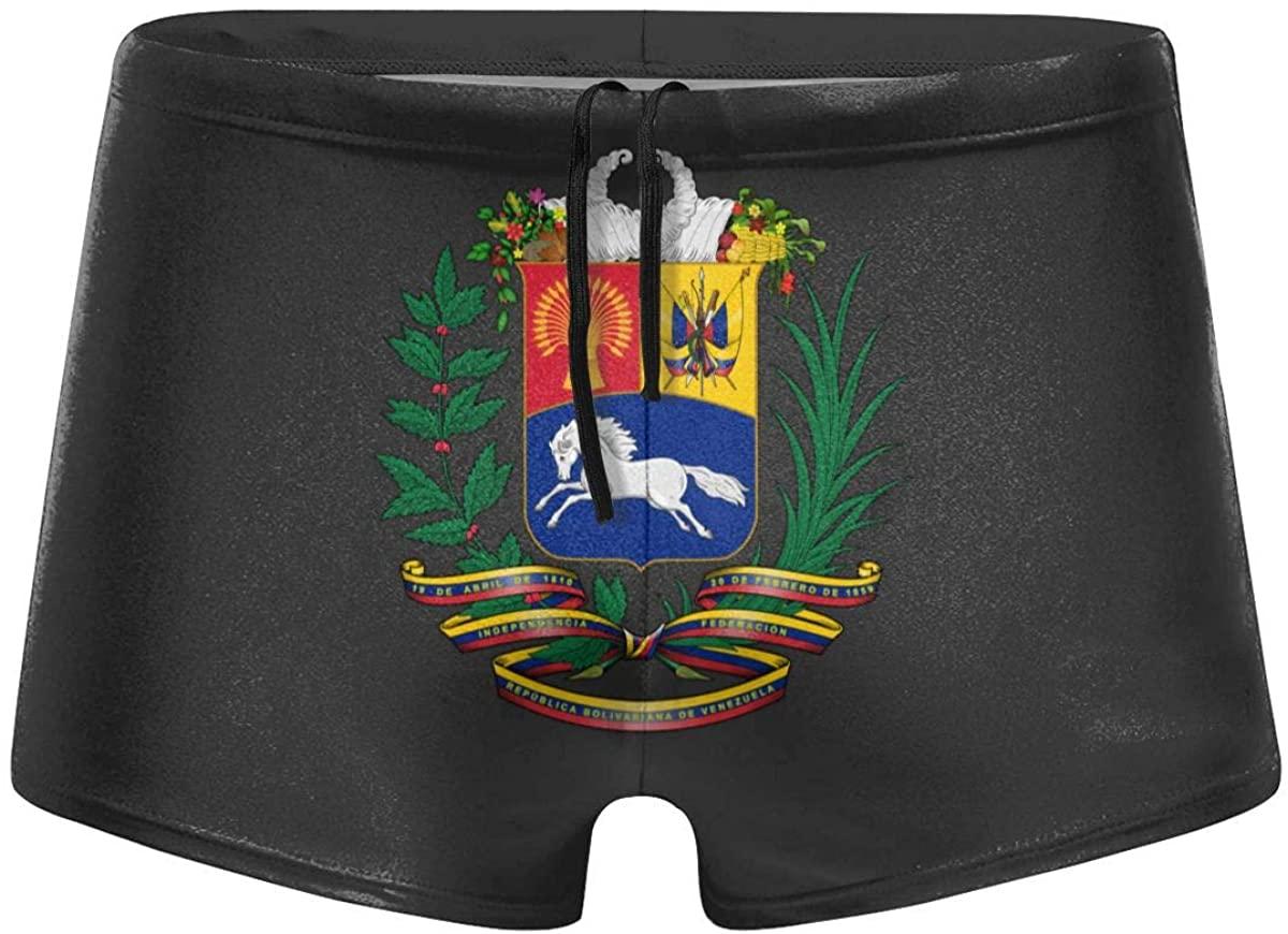 Love Puerto Rico Men's Swimwear Fashion Swim Boxer Briefs Quick Dry Swimming Shorts