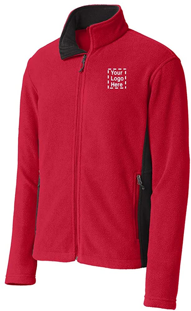 Colorblock Value Fleece Jacket |36 Qty |38.67 Each |Promotional Jacket with Your Logo