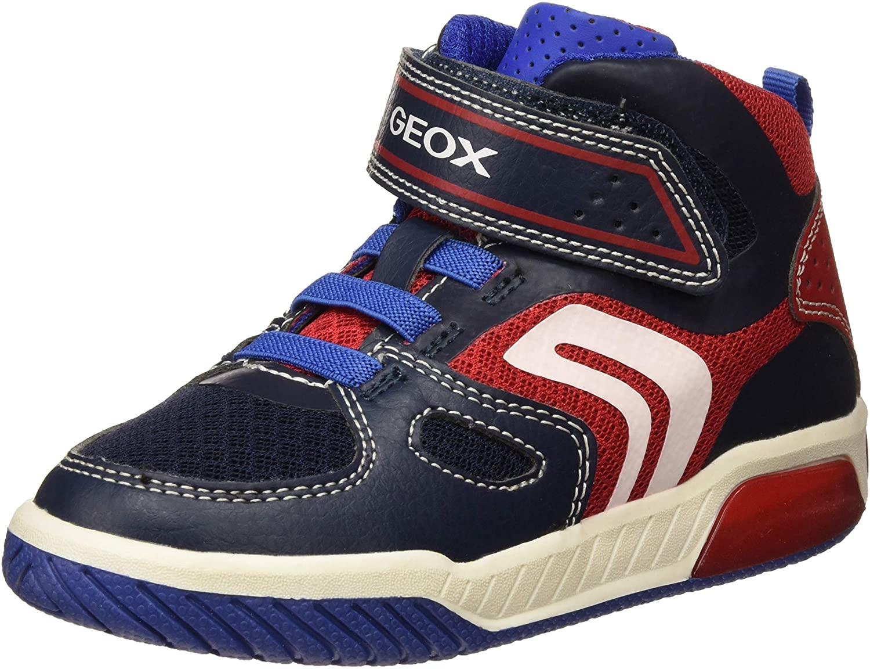 Geox Boys Trainers Hi-Top Sneakers