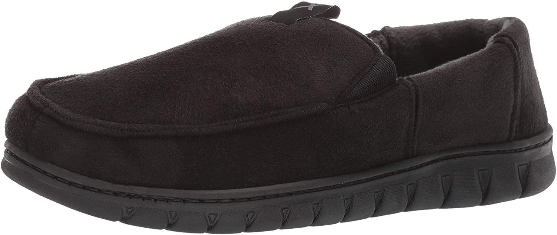 Exact Fit Men's Venetian Slipper Indoor Outdoor Adjustable Comfortable House Shoe with Memory