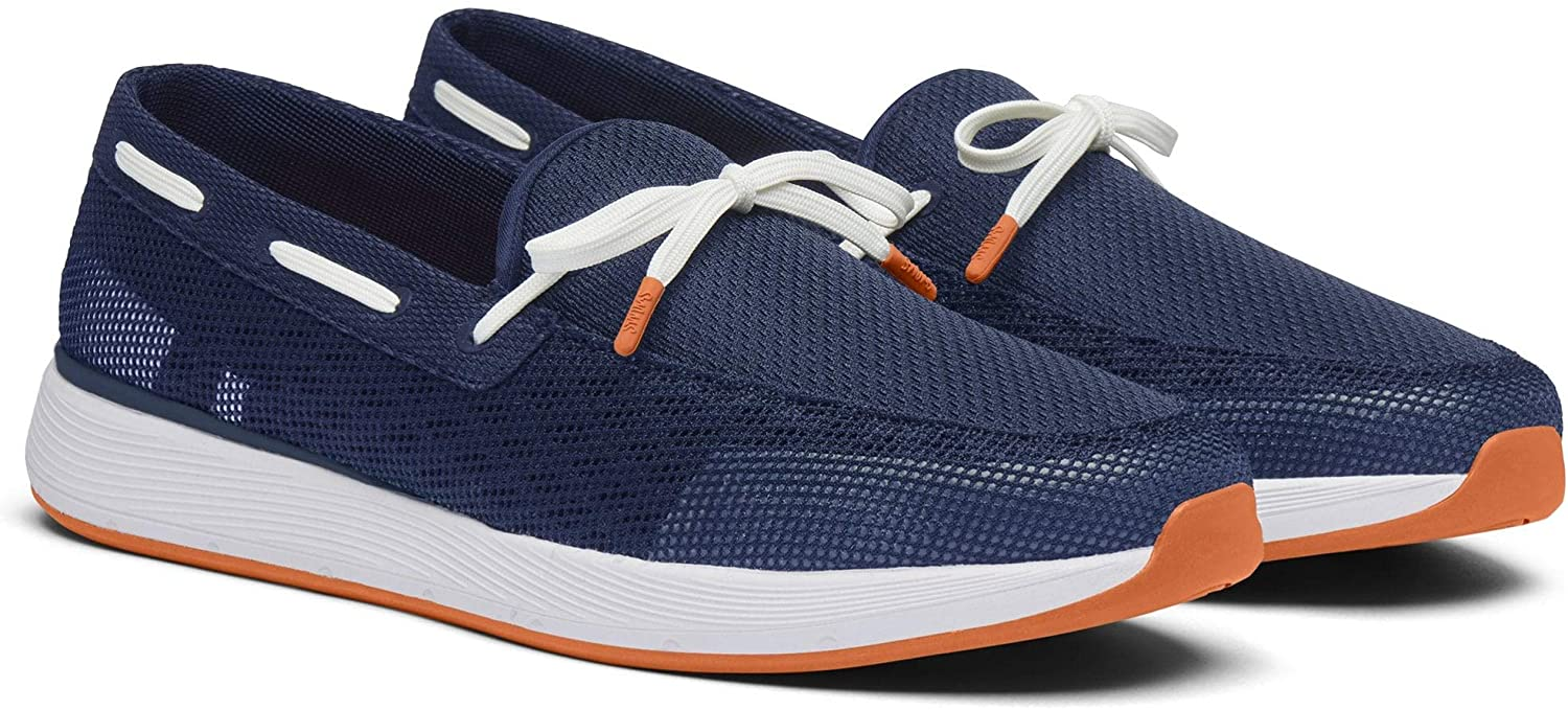 SWIMS Men's Breeze Wave Lace Loafers Navy