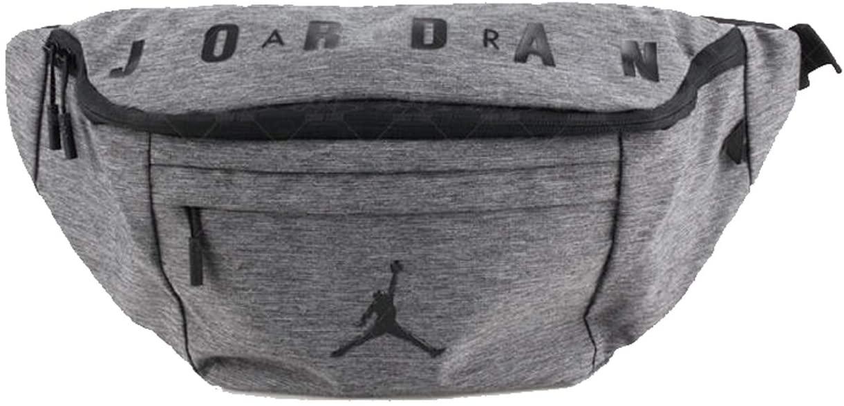 Nike Air Jordan Crossbody Waist Hip Pack (One Size, Carbon Heather)