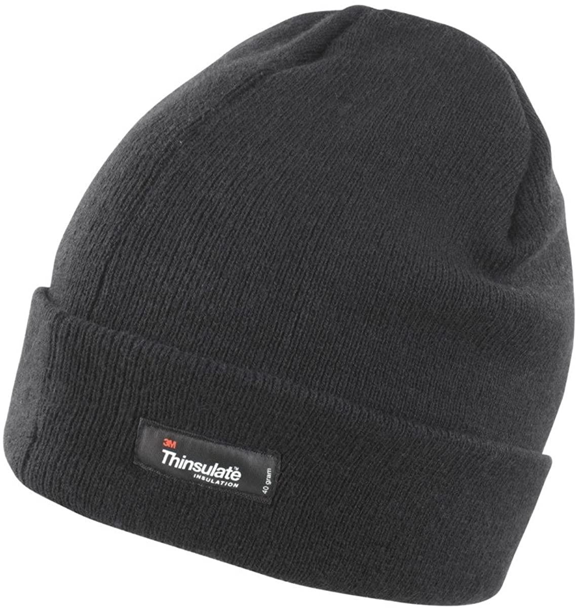 Result Unisex Lightweight Thermal Winter Thinsulate Hat (3M 40g)