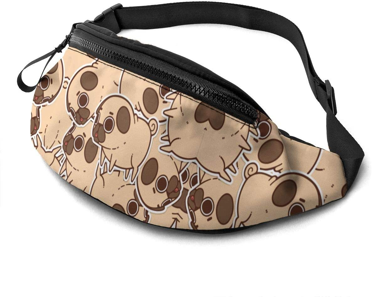 Pug Fanny Pack Fashion Waist Bag