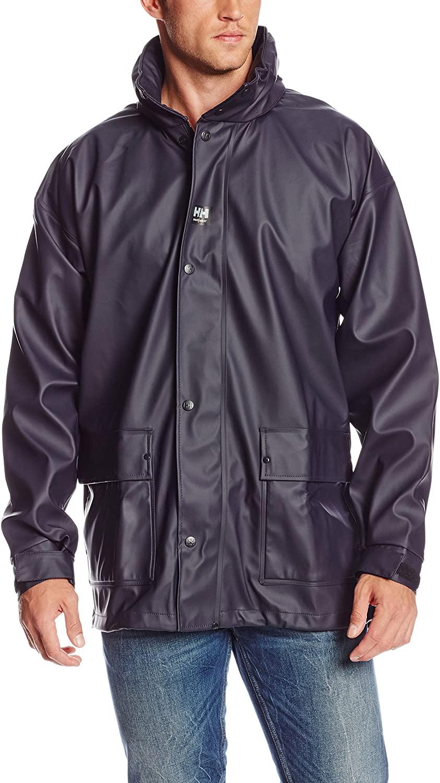 Helly-Hansen Workwear Men's Impertech Deluxe Rain Jacket