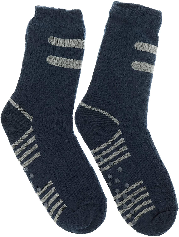 Weinberg Hosiery Mens Sherpa Lined Slipper Socks