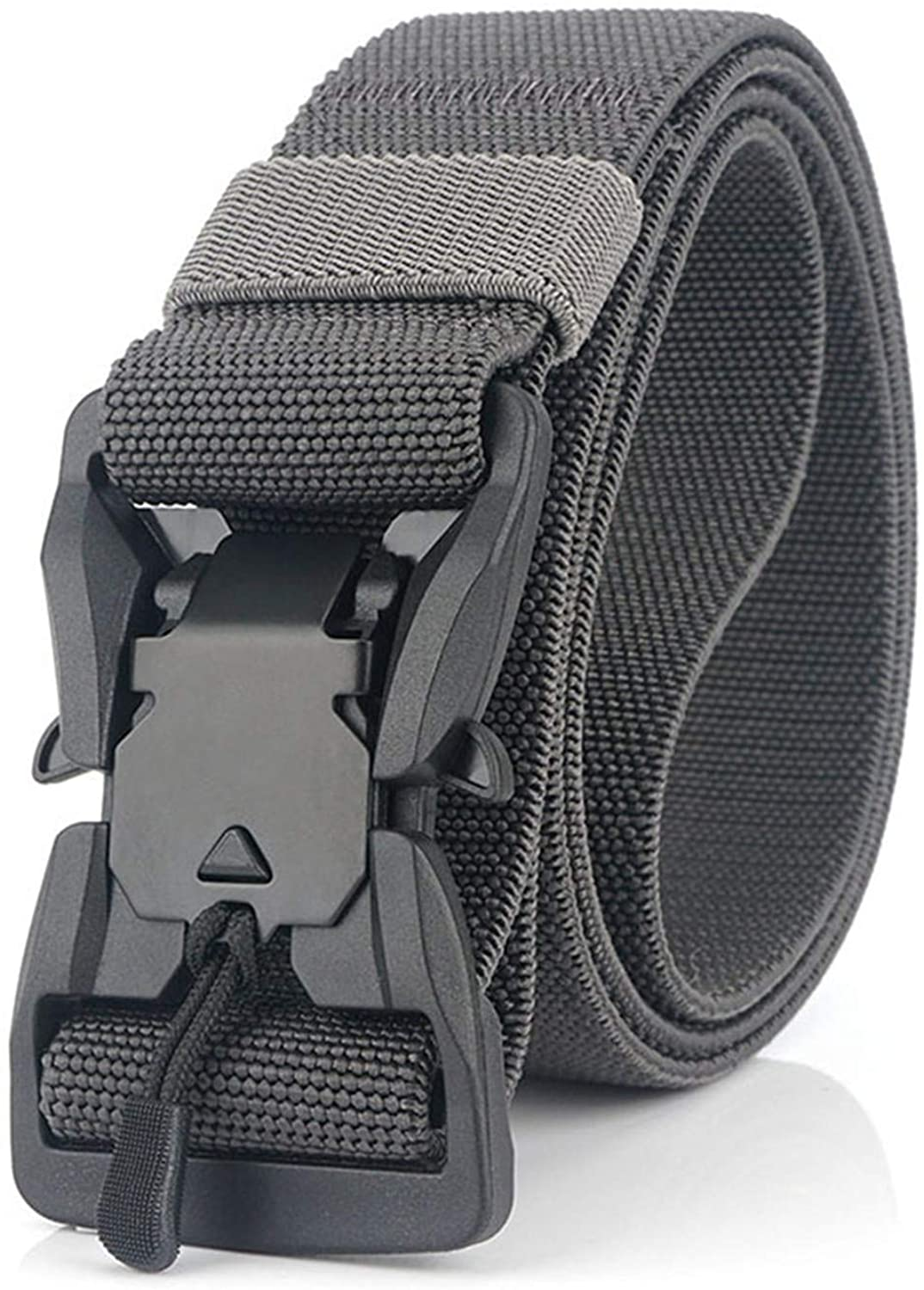 Soluo Tactical Rigger Belt, Military Style 1.5 Inch Utility Nylon Webbing Belt Quick-Release Buckle Belt