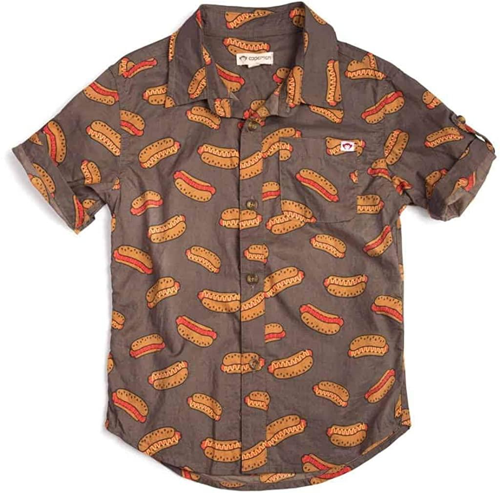 Pattern Shirt | Hot Dog