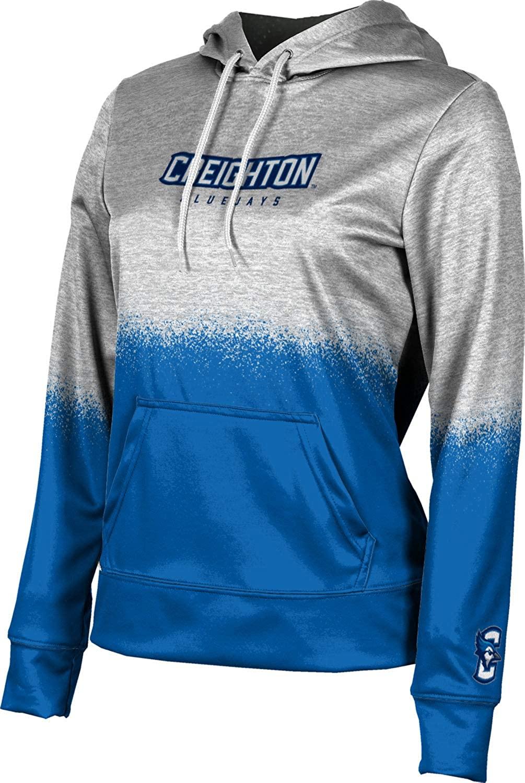 ProSphere Creighton University Girls' Pullover Hoodie, School Spirit Sweatshirt (Spray Over)
