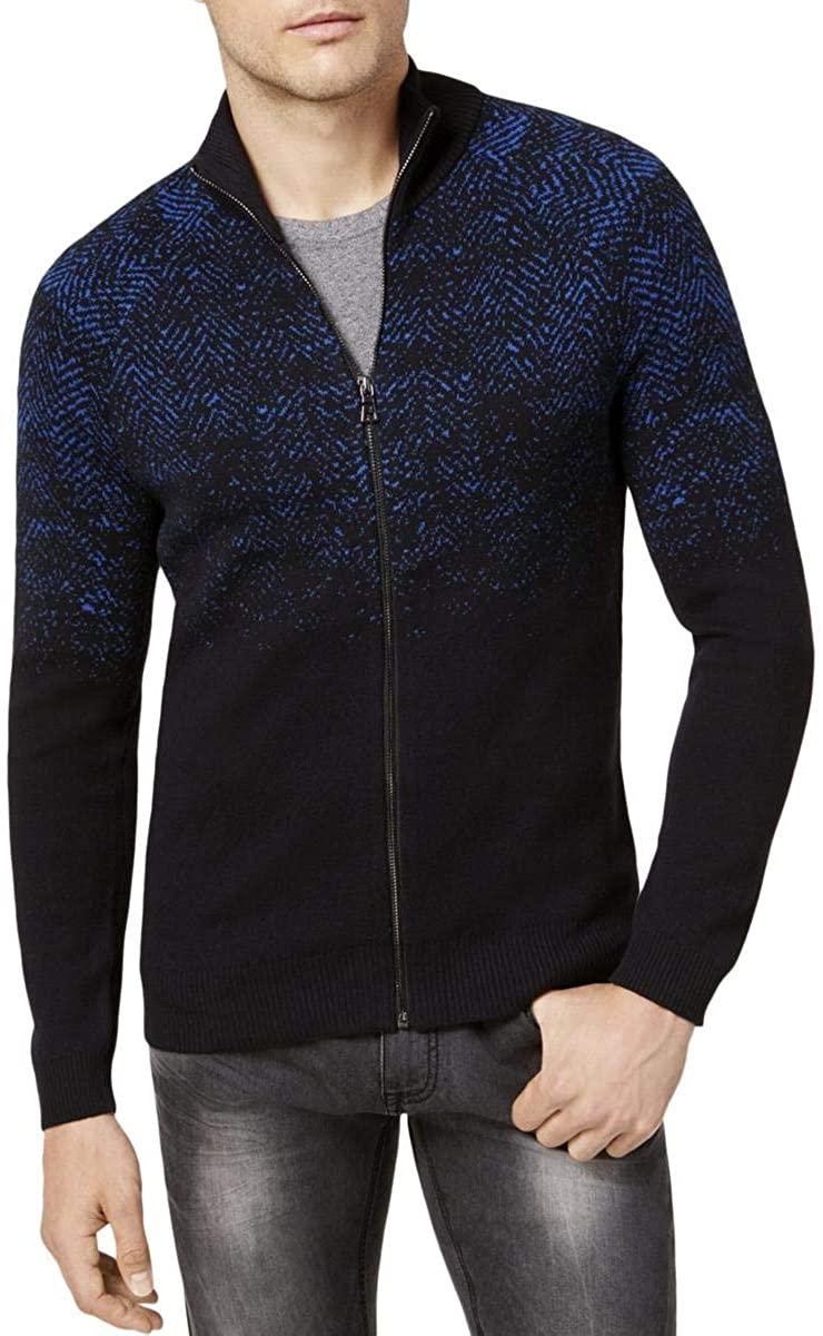 I-N-C Mens Full Zip Cardigan Sweater