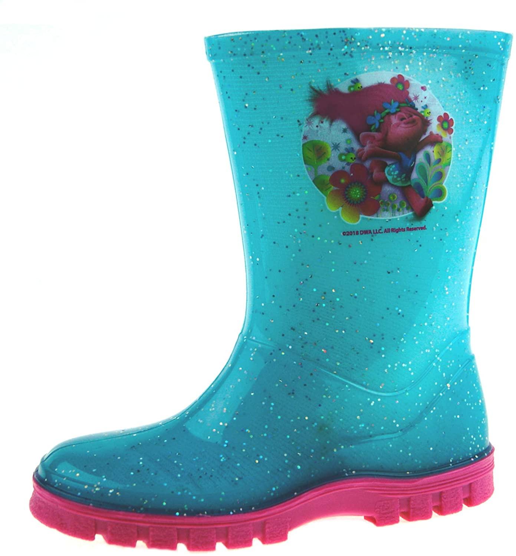 Trolls Girls Addislade Slip On Wellington Boots UK Sizes Child 7-1
