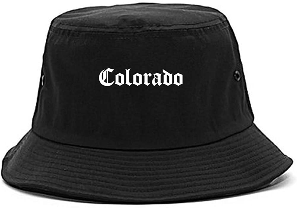 CO Colorado State Old English Bucket Hat