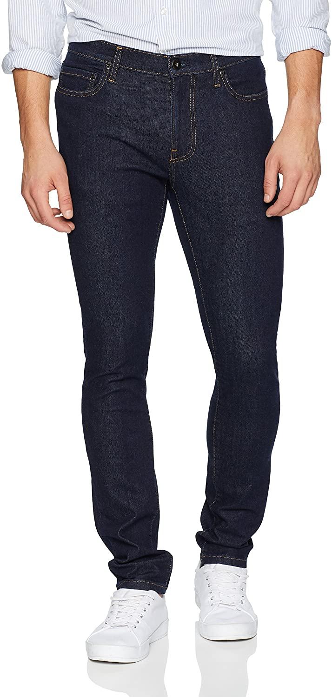 DHgate Brand - Goodthreads Men's Skinny-Fit Comfort Stretch Jean, Rinse/Dark Blue, 35W x 30L