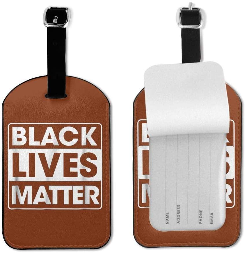 Isle Bay Linens Black Lives Matter Luggage Tag