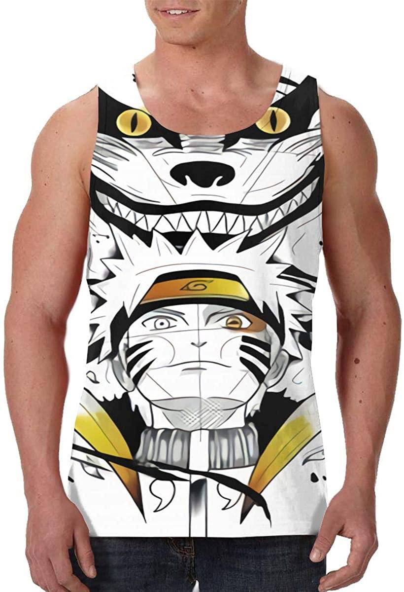 Ascfeagh Mens Tank Top Mortal Kombat Black Lightweight Vest