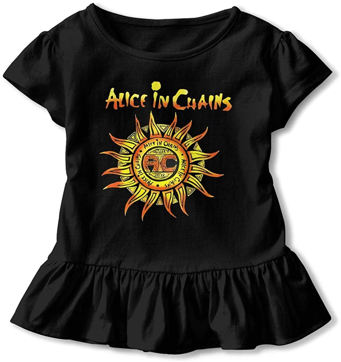 Funny Alice in Chains Unplugged Children's Short Sleeve T Black