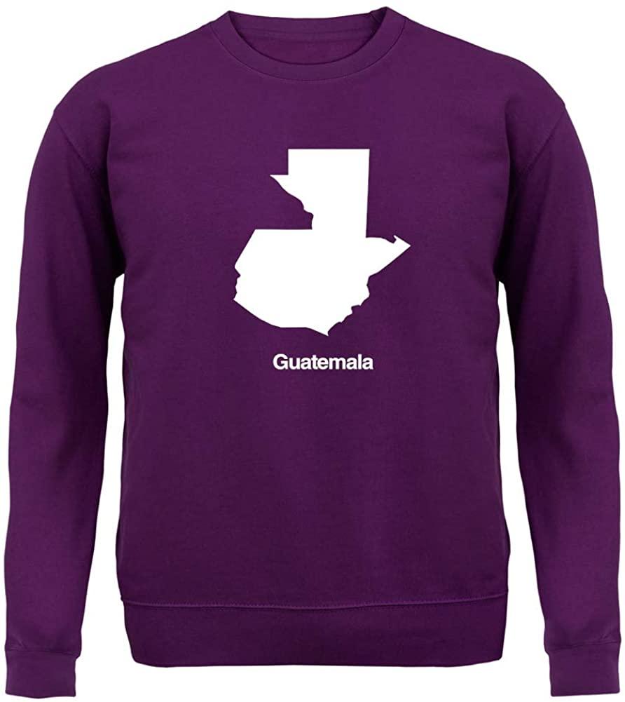 Guatemala Silhouette - Unisex Crewneck Sweater/Jumper